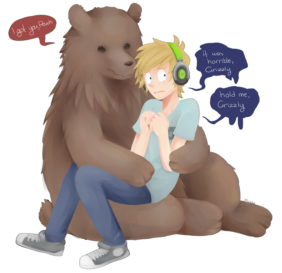 hold me close, Grizzly by Miiukka