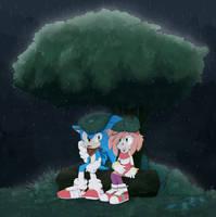 Rain by Miiukka