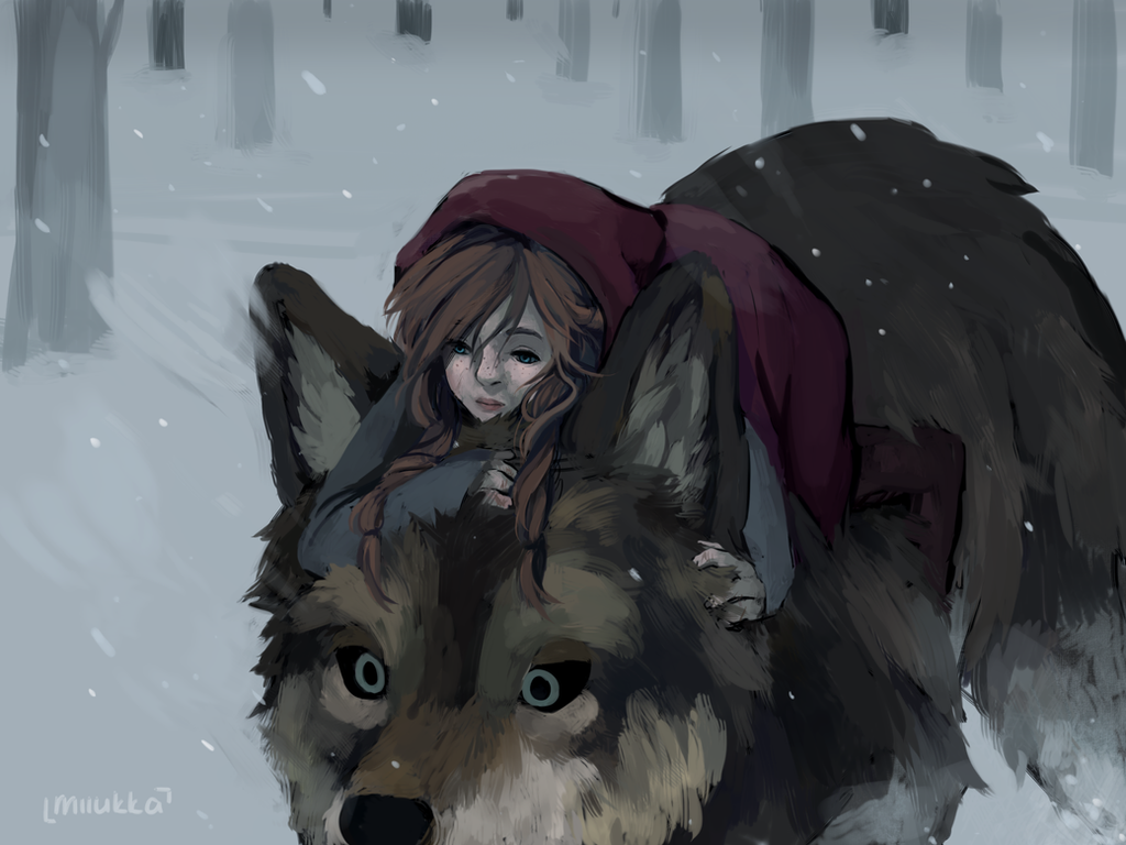 """company of wolves little red riding hood Though angela carter's """"in the company of wolves"""" and the grimm brothers' """"little red cap"""" are spawned from the same theme, """"little red riding hood,"""" by charles perrault, their story lines differ in various ways."""