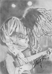 My drawing signed by Terry Balsamo by Nati-Ev