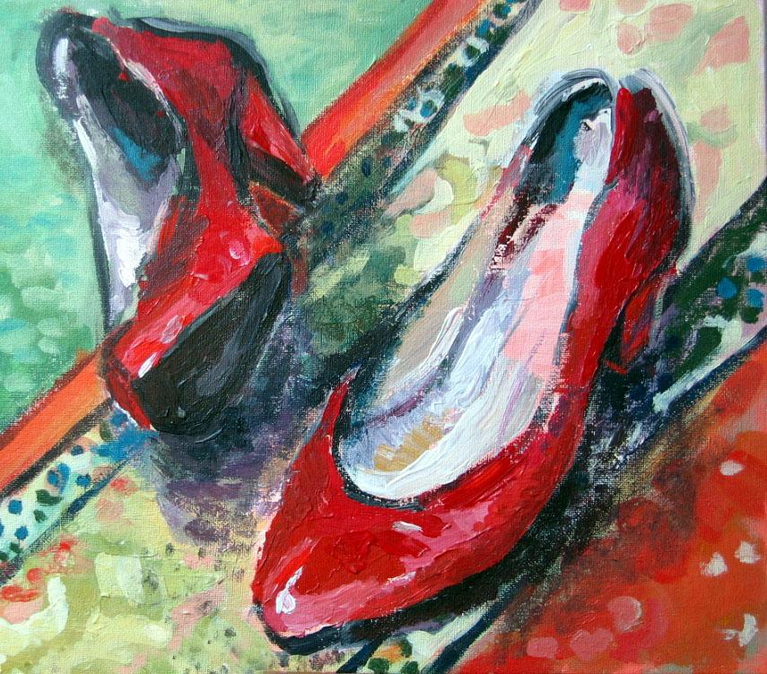 red shoes3 by georgiapawelko