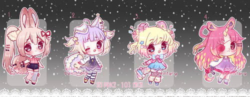 CUTE ADOPTABLES Set Price #8 [closed] by Inntary