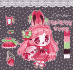 Strawberry Bunny Adopt #10 [closed]