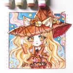 [CM] Marker chibi - sweet neko by Inntary