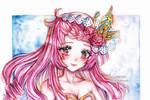 [CM] Watercolor art - Azalea by Inntary