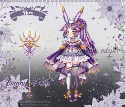 Magic Bunny Priest adopt auction  [OPEN] by Inntary