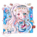 [CM] Marker chibi - Sweet Valentine Akesi