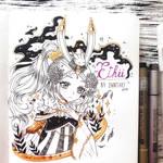 Ink art - Ethii