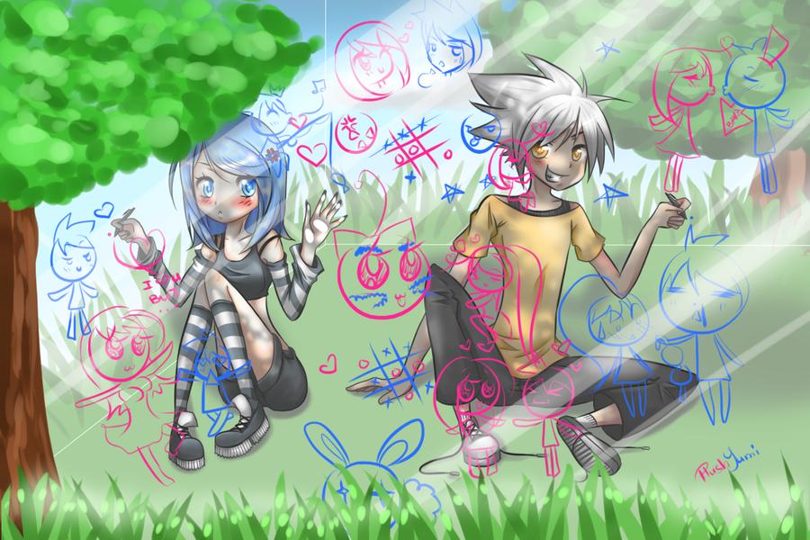 Draw with Me by PlushYumi