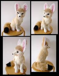 Playboy Bunny Eared Fennec Fox by SarityCreations