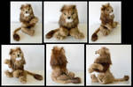 Recycled Mink Lion
