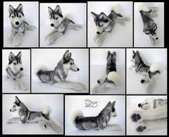 Siberian Husky Silver by SarityCreations
