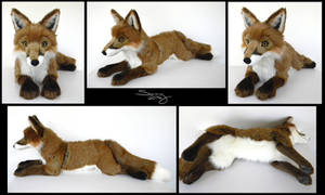 25 inch Red Fox #4 by SarityCreations