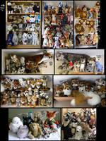 My Whole Damn Plush Collection