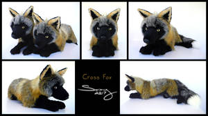 25 inch Cross Fox by SarityCreations