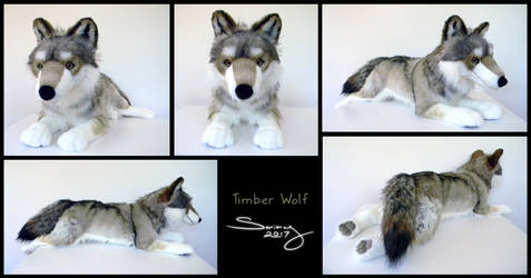 25 inch Timber Wolf