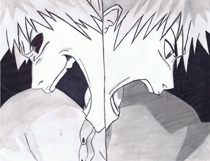 ichigo vs hollow ichigo by Anime019se
