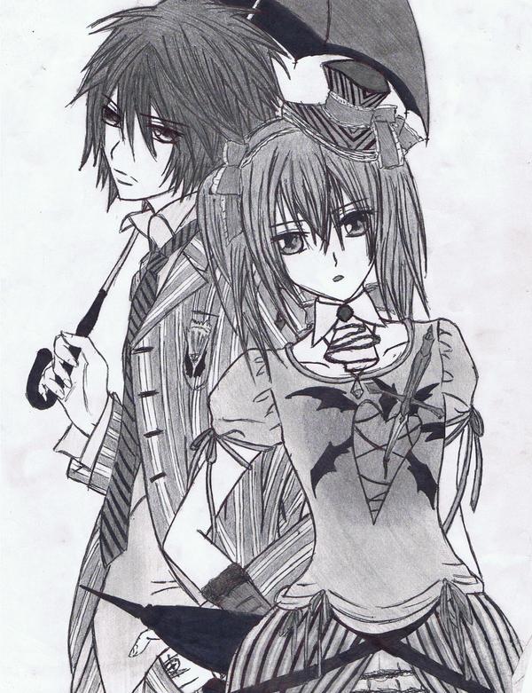 shiki and rima by Anime019se