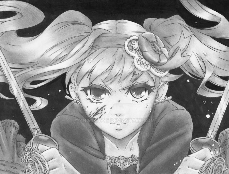 Elizabeth Midford by Anime019se