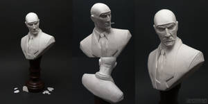 The Spy (Team Fortress 2) Sculpture