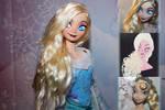 Disney Mattel Elsa Repaint