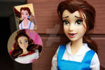 Disney Belle - Doll Repaint | Before-After