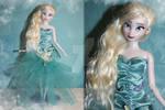 Disney Elsa Doll Repaint | Concept Art Inspired