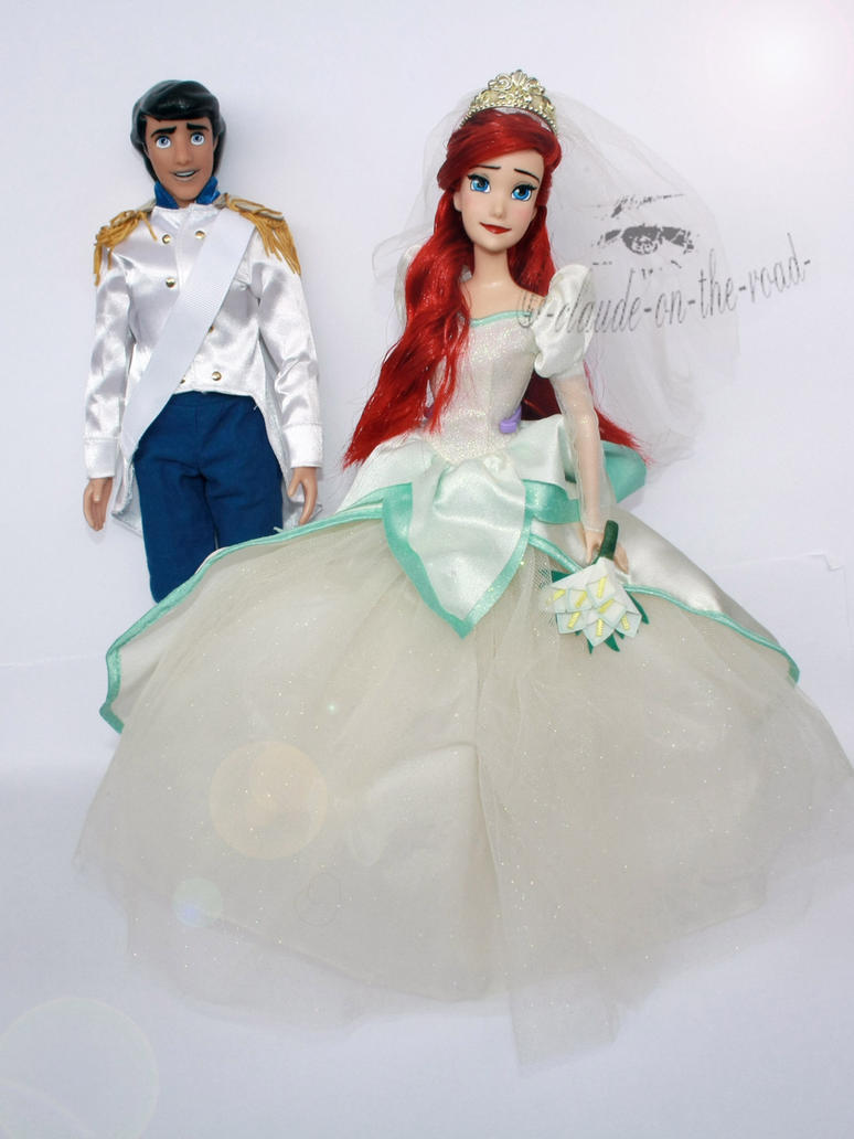 Disney Ariel and Eric Doll Repaints by claude-on-the-road on DeviantArt