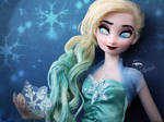 Freestyle Concept Art Elsa