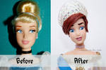 Grand Duchess Anastasia Doll Repaint |Before-After