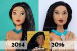 Disney Pocahontas Doll Repaint | Old VS New