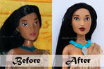 Disney Pocahontas Doll Repaint | Before - After