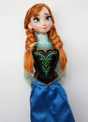 Disney Anna Doll Repaint   Portrait