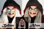Disney Old Hag Doll Repaint | Before - After