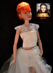 Hayley Williams Wedding Doll Repaint |Before-After by the-art-of-claude
