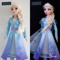 Secret Siren | Frozen II Elsa Doll Repaint