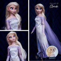 All Is Found   Frozen II Elsa Doll Repaint