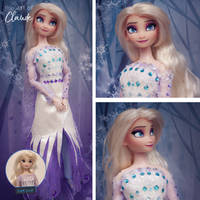 You Are The One |Disney Frozen 2 Elsa Doll Repaint