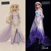 Don't make me wait | Frozen 2 Elsa OOAK Doll