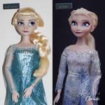 Dive Down Deep | Elsa Doll Repaint by the-art-of-claude