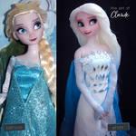 Frozen II Elsa | Concept Art Inspired by the-art-of-claude