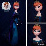 My Home | Queen Anna Doll Repaint | Frozen 2 by the-art-of-claude