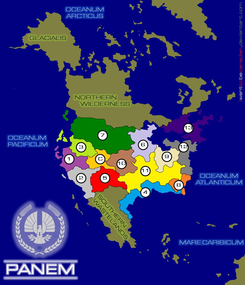 Panem v.2 - The Hunger Games by iwanttobecanadian on DeviantArt