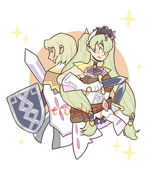 Lest and Frey (Rune Factory 4)