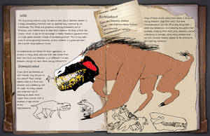 Dinomaster337 Hobbyist Traditional Artist Deviantart Survival evolved, the daeodon eats superior kibble. deviantart