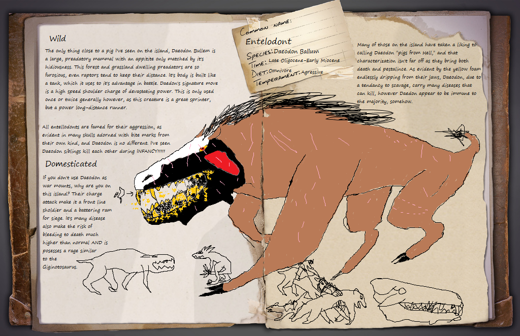 Ark Daeodon By Dinomaster337 On Deviantart The ark item id for daeodon saddle and copyable spawn commands, along with its gfi code to give yourself the item in ark. ark daeodon by dinomaster337 on deviantart