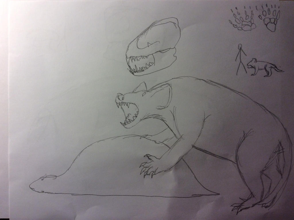 Bat Dog by Dinomaster337