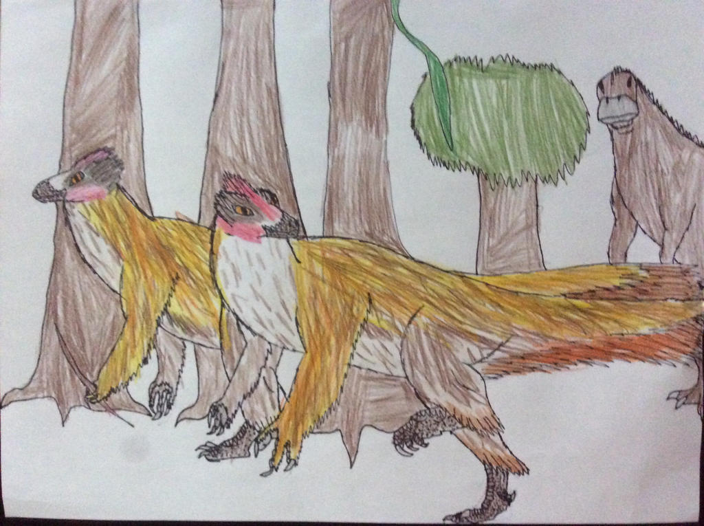 Dinosapian pt. 2 by Dinomaster337