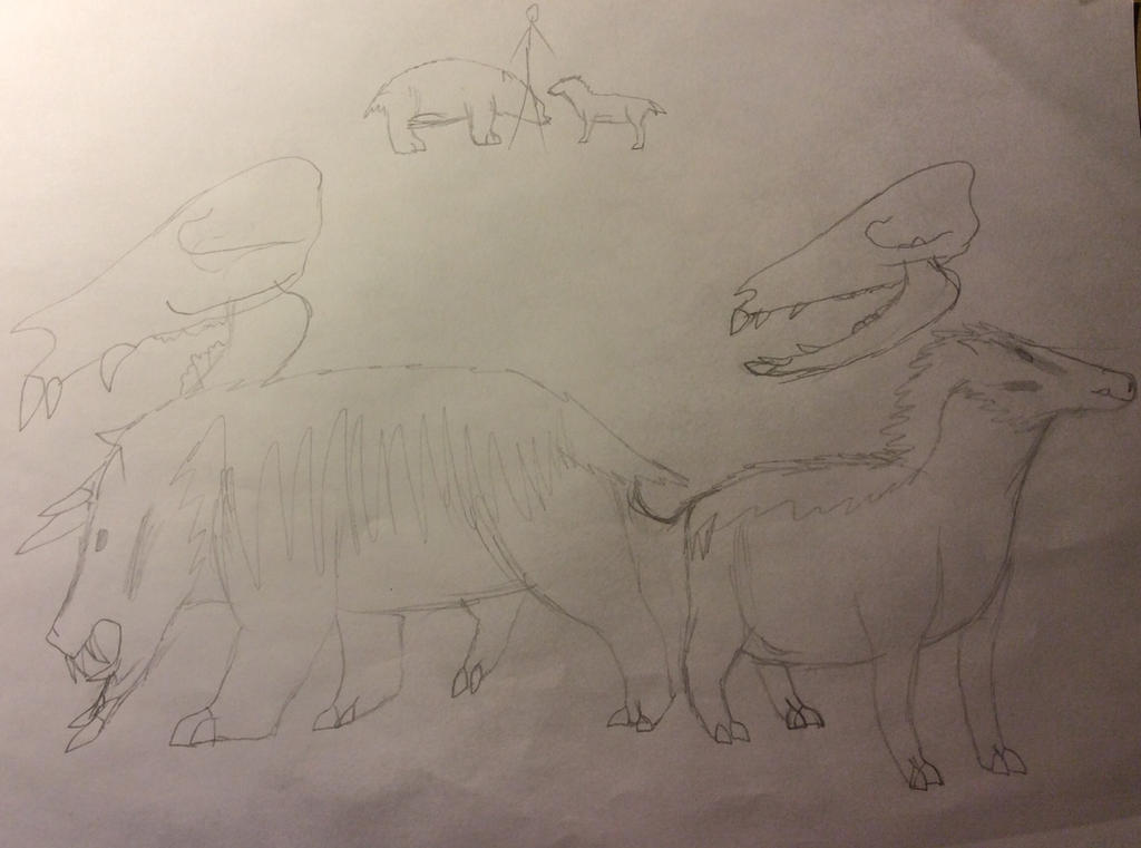 Two Boars by Dinomaster337