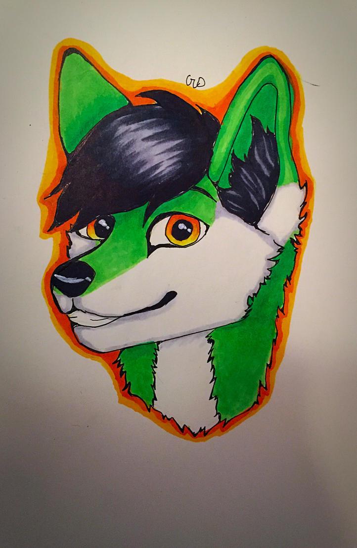 Furry oc by Kha0s1